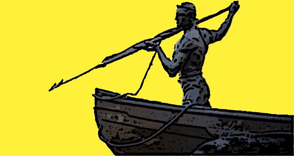 Whaler Statue-c